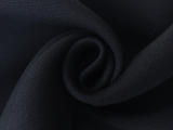 Couture Heavy Silk and Wool in Midnight Navy0