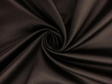 Italian Silk Duchesse Satin in Chocolate Brown0