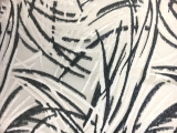 Silk and Lurex Burnout Velvet with Abstract Strokes0