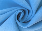 Polyester Stretch Crepe in Periwinkle0