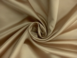 Italian Silk Duchesse Satin in Tan0