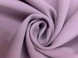Stretch Polyester Crepe in Wisteria0