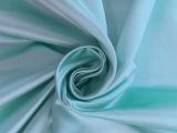 Italian Silk Duchesse Satin in Robin's Egg Blue 0