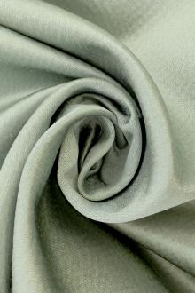 Hammered Silk and Cotton Satin in Jade0