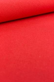 Linen Cotton Blend in Ruby0