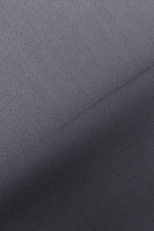 Italian Wool Satin Faille in Blue Gray0
