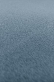 Italian Cashmere Wool Blend Coating in Powder Blue0