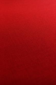 Poly Wool Stretch Gabardine in Red0