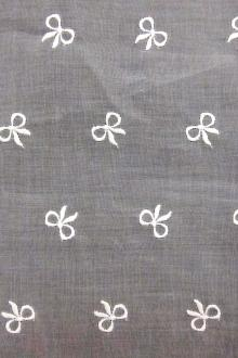 Embroidered Cotton Organdy0
