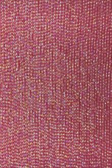 Rows of Cup Sequins on Silk Chiffon0
