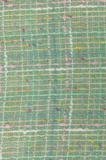 Cotton Rayon Lurex Tweed 0