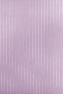 Cotton Striped Gauze in Orchid0