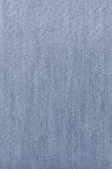 Light Weight Cotton Denim in Bleached Blue0