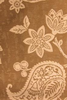 Outdoor Poly Upholstery Floral Paisley Pattern0
