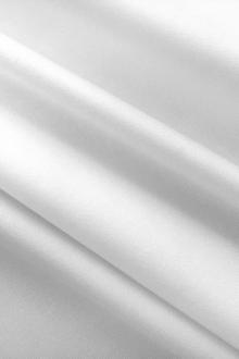 Fine Stretch Cotton Sateen in White0