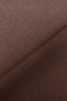 Italian Wool Satin Faille in Brown Taupe0