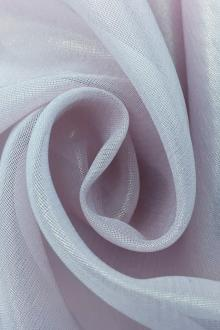 Microfiber Gold Metallic Chiffon in Light Lilac0