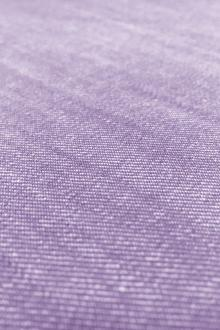 Cotton Poly Stretch Denim in Purple0