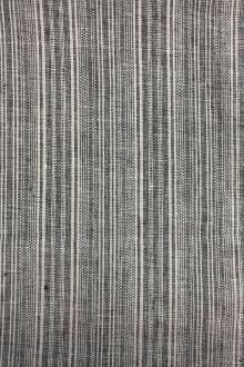 Linen Woven Stripe in Natural0