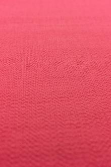 Rayon Nylon Blend Crepe in Coral0
