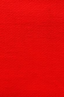 Italian Wool Double Crepe in Bright Red0