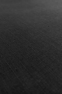 Soft Handkerchief Linen in Black0