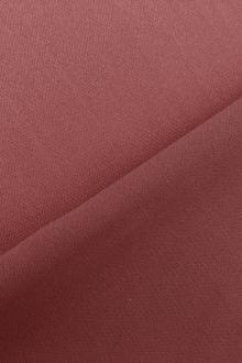 Italian Wool Satin Faille in Redwood0