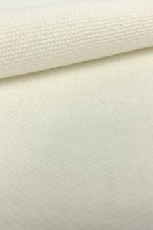 Linen and Cotton High Performance Upholstery in Oyster White0