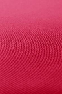 Japanese Cotton Poly Blend Denim in Fuchsia0