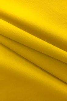 Cotton Blend Stretch Satin Barathea in Yellow0