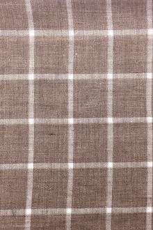 Scabal Italian Window Pane Linen0