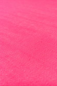 Cotton Poly Stretch Denim in Neon Pink0
