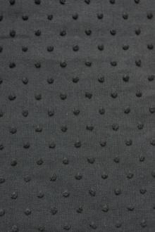 Cotton Swiss Dot in Black0