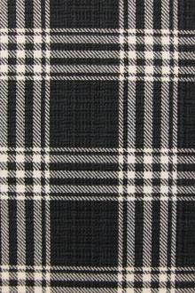 Cotton Upholstery Plaid Print 0