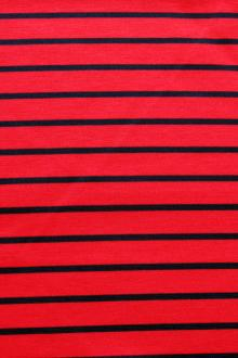 Viscose Spandex Stripe Knit0