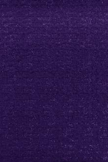 Wool and Nylon Lurex Tweed in Royal Purple0