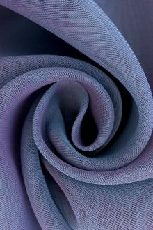 Iridescent Polyester Chiffon in Wisteria0