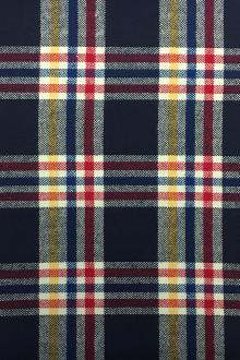 Cotton Flannel Plaid in Primary Colors0