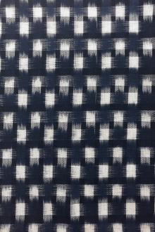Cotton Ikat With Check Pattern0