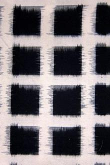 Cotton Ikat Squares Repeat0