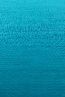 Rayon Nylon Blend Crepe in Turquoise 0