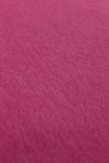 Italian Cashmere Doubleface Coating in Bright Pink0
