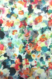 Japanese Cotton Lawn Abstract Floral Digital Print 0