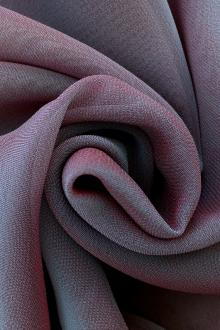 Iridescent Polyester Chiffon in Mauve0