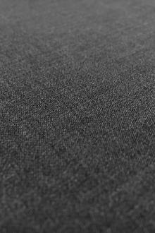 Poly Wool Stretch Gabardine in Bankers Grey0