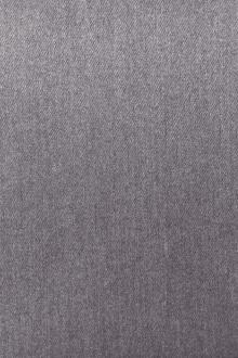 Poly Cotton Blend Stretch Twill Suiting in Heather Grey0