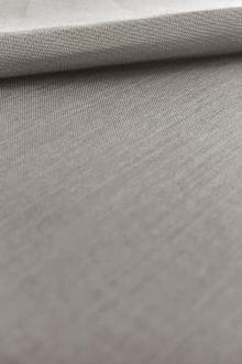 Silk and Cotton Voile in Grey0