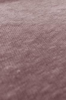 Hemp and Organic Cotton Jersey in Mauve0