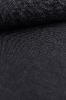 Stone Washed Linen In Navy0