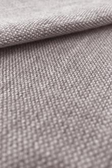 Linen Like Polyester in Stone0